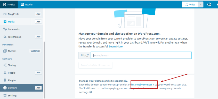 Step 4 Domain Mapping Create WordPress.com Site On Your Existing Domain!