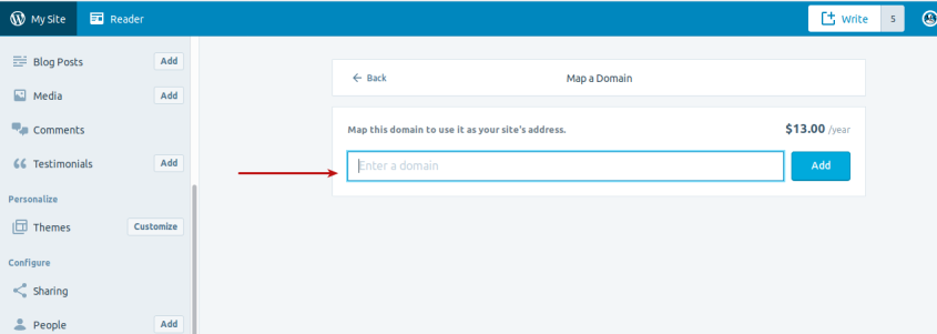step 5 Domain Mapping Create WordPress.com Site On Your Existing Domain!