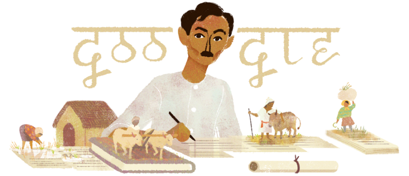 google-doodle munshi premchands regional languages author