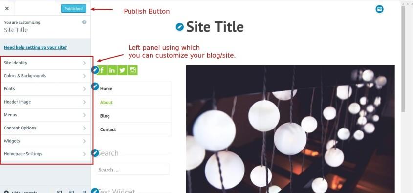 How to customize WordPress.com blog-2