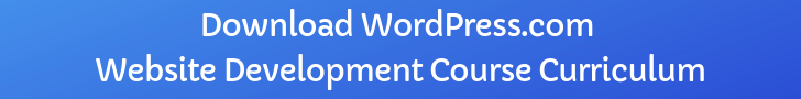Download WordPress.com Website Development Course Curriculum