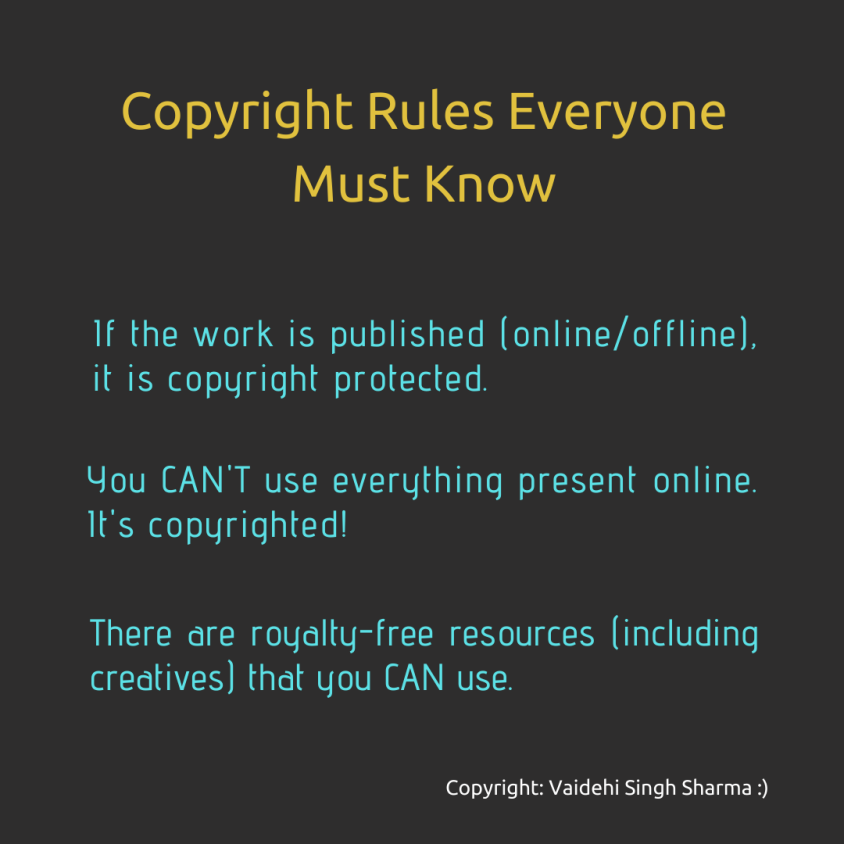 Copyright rules (1)